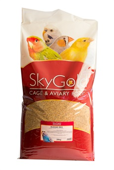 SGBRE0 - SkyGold Budgie Red 20kg